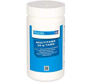 POOLSBEST-1kg-Mini-Multitabs-5-in-1-20g-test